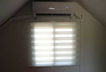 Faux Wooden Blinds in Lakeside | Motorized Shade Experts